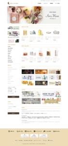 ホームページ制作事例 feelliving ECサイト