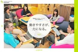 ホームページ制作事例 株式会社ユニクエスト・オンライン 採用サイト