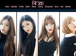 Web制作実績 ROZE様オフィシャルウェブサイト