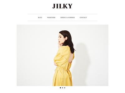 ホームページ制作実績 jilky