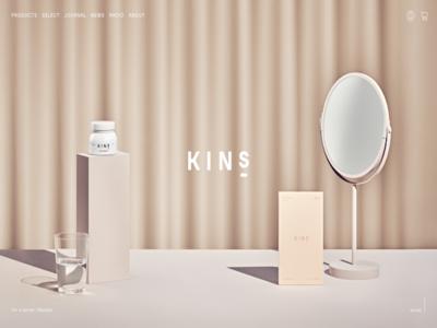 ホームページ制作実績 KINS ECサイト