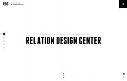 ホームページ制作実績 リレイションデザインセンター株式会社