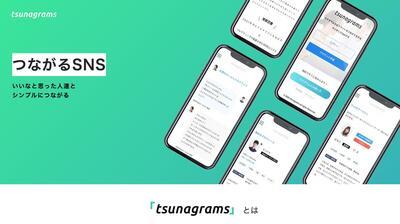 ホームページ制作実績 フリーランス向けSNSサイト「ツナグラムス」