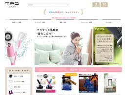 ホームページ制作実績 生活雑貨のショッピングサイト TPO collection 様