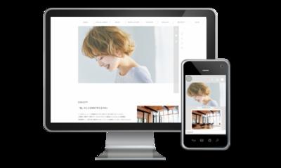 ホームページ制作実績 美容室『CUOREA』