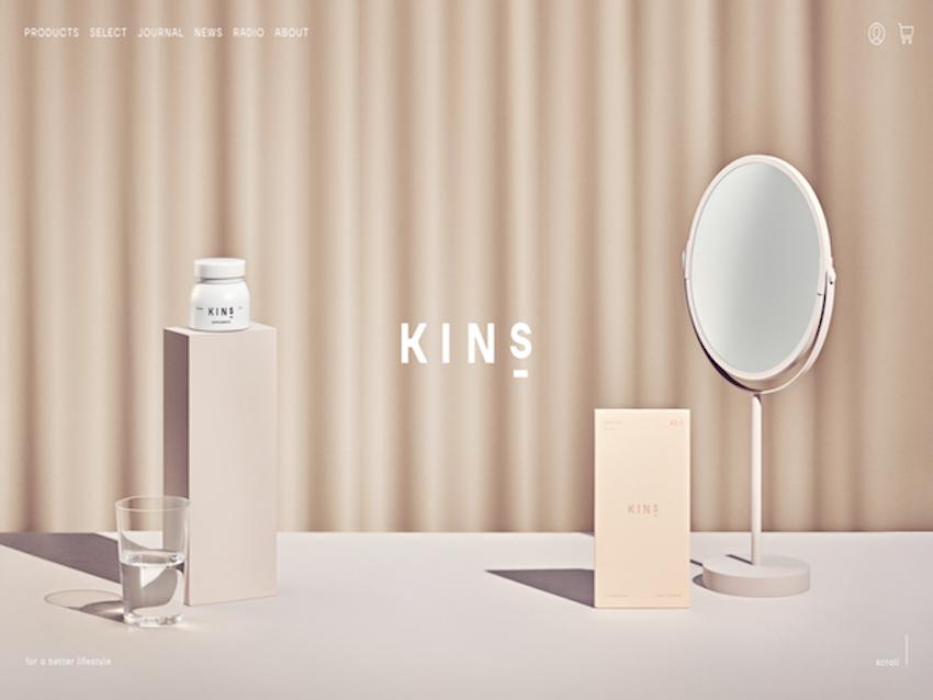 ホームページ制作実績KINS ECサイト